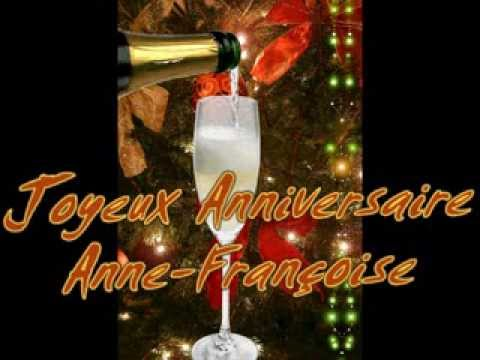 Anniversaire Anne Francoise Youtube