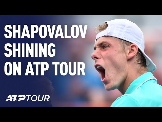 Shapovalov Shines | FEATURES | ATP