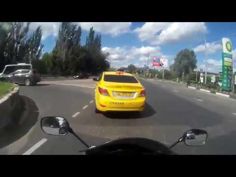 Небольшой прохват по Орехово-Зуево и немного через Ликино Дулево на Suzuki GSX650FA