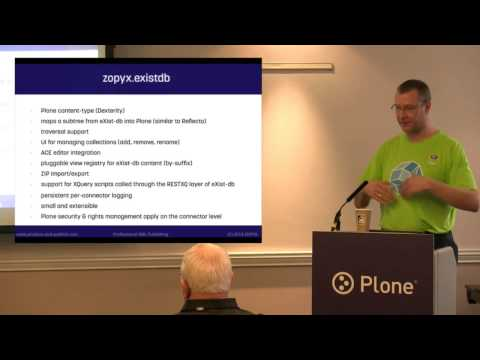 Structured Content Rocks - Integration of eXist-db with Plone