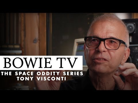 Bowie TV: Tony Visconti on recording Space Oddity with David Bowie