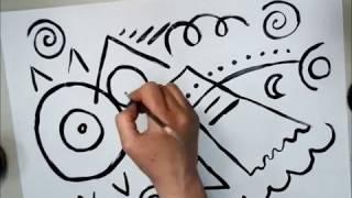 Abstract Painting Like Kandinsky: Video 1