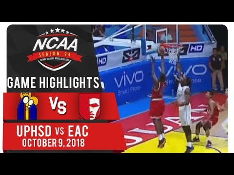 NCAA 94 MEN'S BASKETBALL: UPHSD vs. EAC | Game Highlights | October 9, 2018