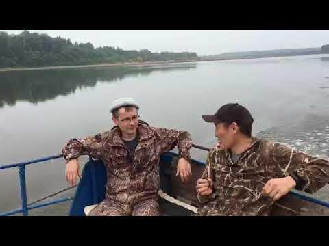 Одноклассники. Рыбалка на реке Чулым август 2019