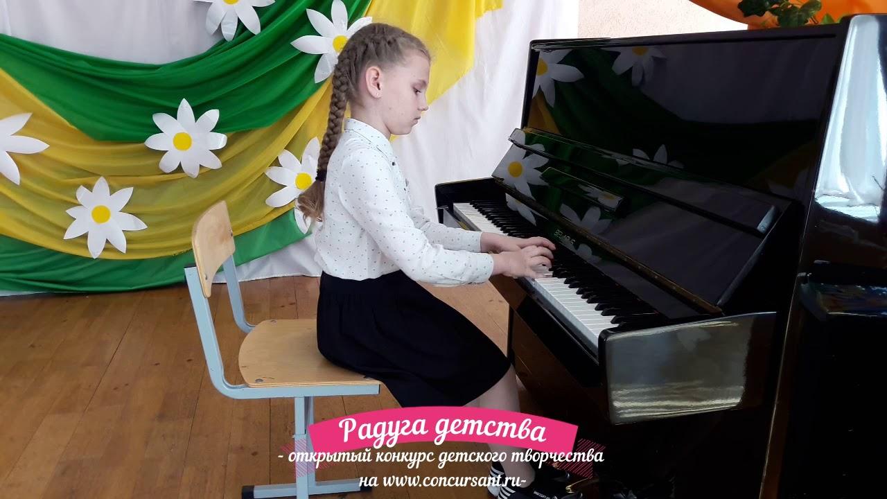 Каменицкая Маргарита. Фортепиано/ Вариации на тему бел.нп ...