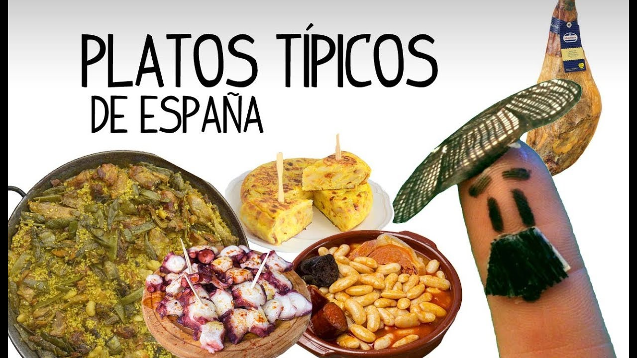 spanish food typical spanish dishes learn spanish youtube