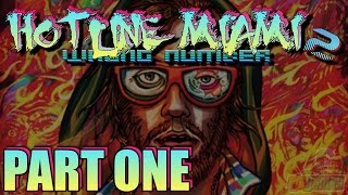 Let's Play Hotline Miami 2 Wrong Number Part 1 - Midnight Animal | PC Game Gameplay Walkthrough