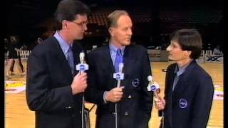 tim gossage introduces the wnbl on channel 10 1992