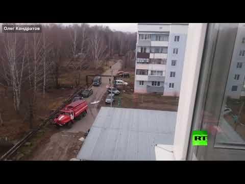 تحطم طائرة عسكرية مسيرة قرب منزل سكني في مدينة ريازان الروسية  - نشر قبل 4 ساعة