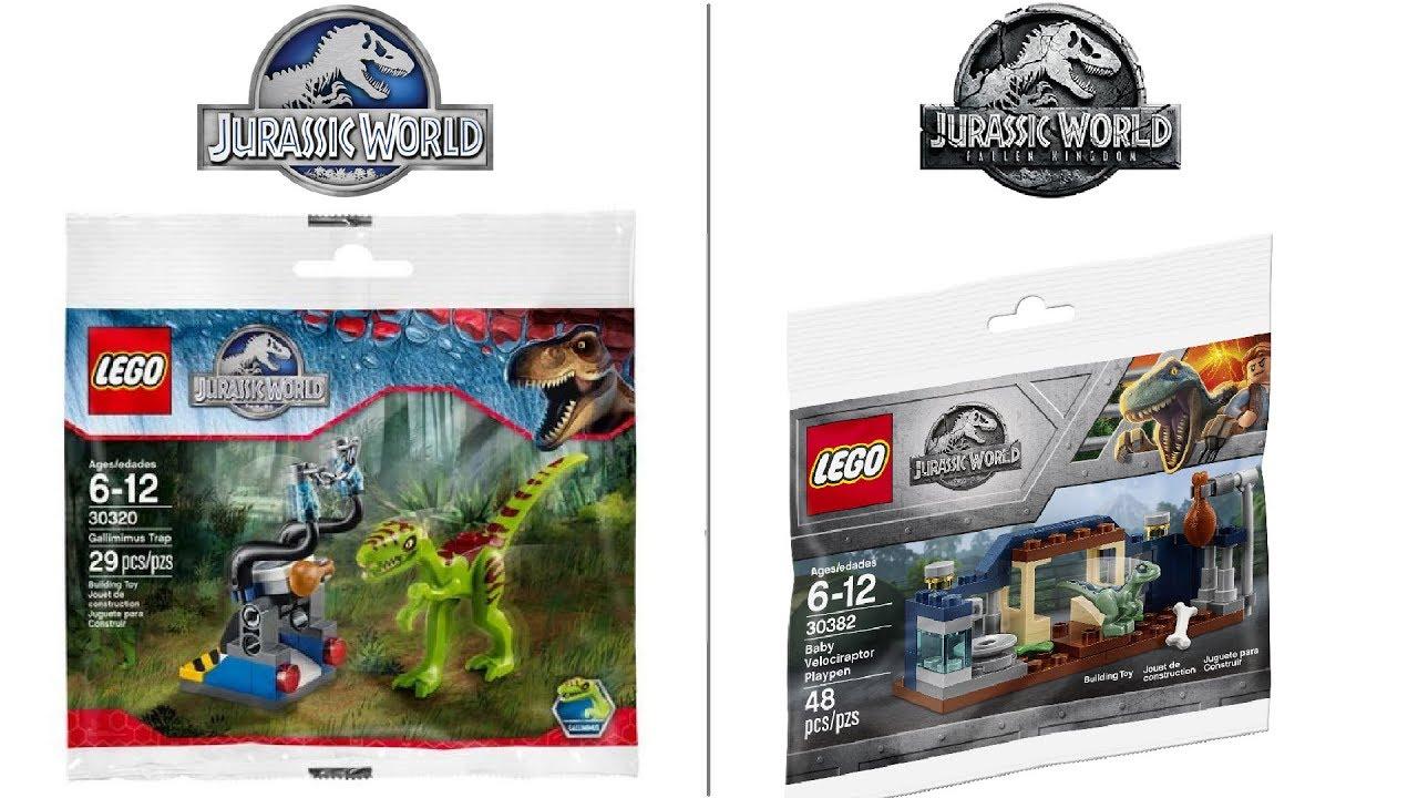 Lego Jurassic World 30382 Baby Velociraptor Playpen Fallen Kingdom