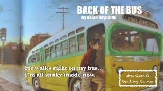 Back of the Bus (Rosa Parks Story) Read Aloud w/ Words on Screen