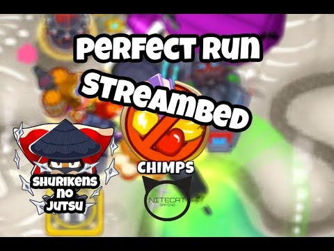 Bloons TD6 Streambed CHIMPS Mode Perfect Run