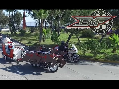Toy Run Solo Angeles tijuana 2015 drone footage