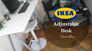 Ikea Adjustable Desk (Assembly)