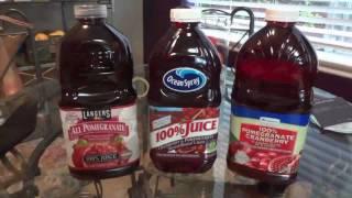 Prostate Cancer Pomegranate Juice