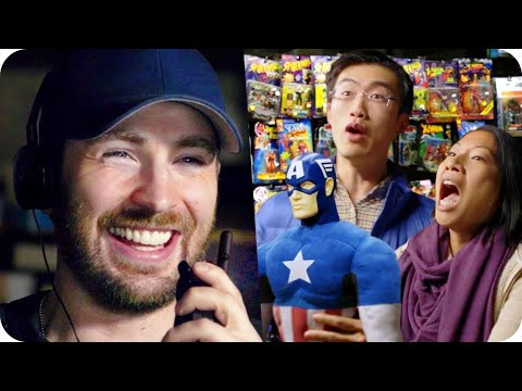 Chris Evans Pranks Comic Fans with Surprise Escape Room // Omaze