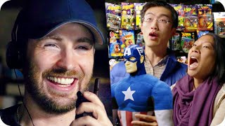 Captain America Pranks Comic Fans with Surprise Escape Room // Omaze