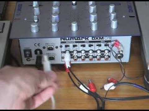 Using Usb Mixers With A Pc Not For Time Coded Vinyl Cds Youtube