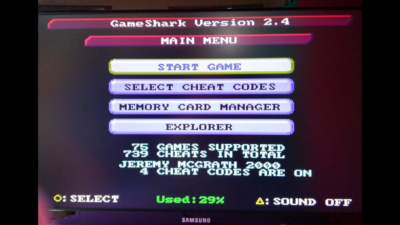 Gameshark v6 Psx ps1 iso