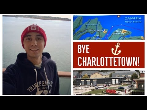 NORWEGIAN GEM Leaving CHARLOTTETOWN-Prince Edward Island l Ep. 16
