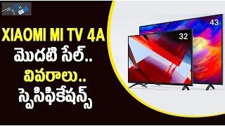 Xiaomi mi tv 4a Series 32 inch 43 inch Models Sales Started, Price And Specs - Telugu Tech Guru