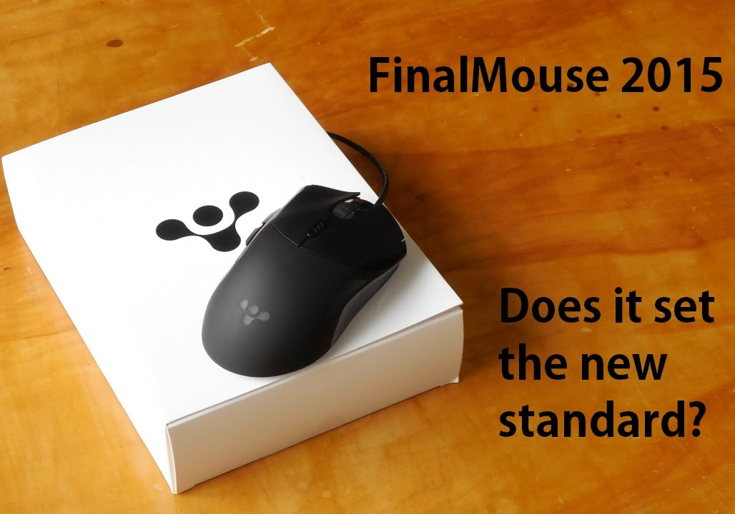 Finalmouse sweaty hands