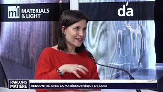 Parlons Matière par Spazio lab « La Matériauthèque de RDAI »