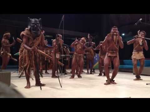 """A PNG song """"Pacific Islands"""" played by a Malaita Island performance group of Solomon Islands"""