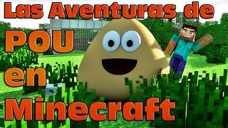 Las aventuras de Pou en Minecraft: Jugando al futbol - Pou Adventures in Minecraft