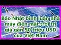 Báo BVPL: Khánh thành nhà máy điện mặt trời 55 triệu USD