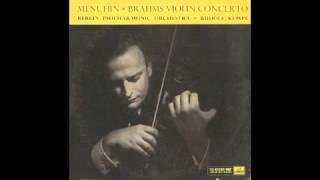 Silent Tone Record/ブラームス:ヴァイオリン協奏曲/ユーディ・メニューイン(vn)ルドルフ・ケンペ指揮/英HMV:ASD 264/クラシックLP専門店サイレント・トーン・レコード