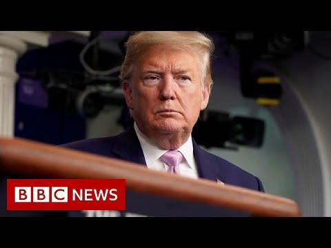 Trump Warns Of 'toughest Week' Of Pandemic Yet - BBC News