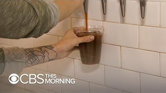 CBD-infused coffee is growing in popularity