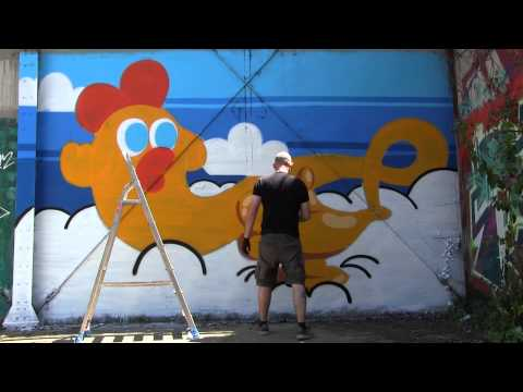 interview street art mr poulet