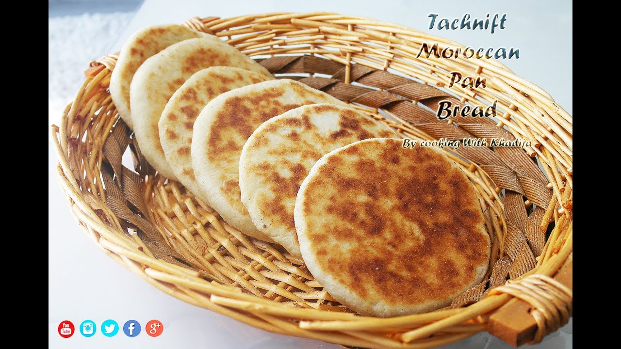 Tachnift Moroccan Pan Bread Marokaanse Pan Brood Youtube