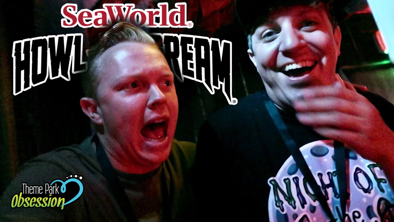 SeaWorlds Howl-O-Scream Grand Opening Night! First look at the New Event