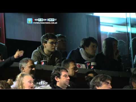 Gerardo Martino en Newell's - Gimnasia. Fecha 2. Torneo Primera División 2014. FPT