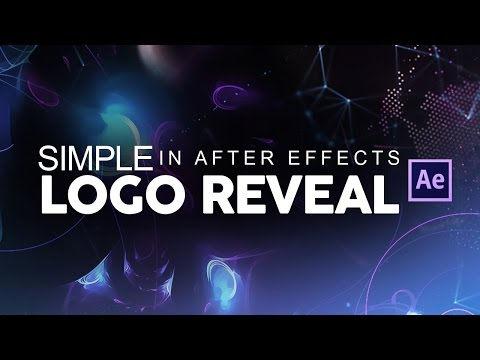 After Effects Tutorial: Simple Logo Reveal Animation!