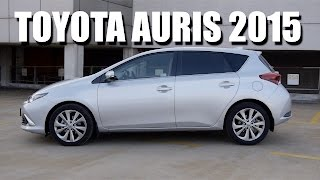 Toyota Auris 2015 1.2 CVT (ENG) - Test Drive and Review