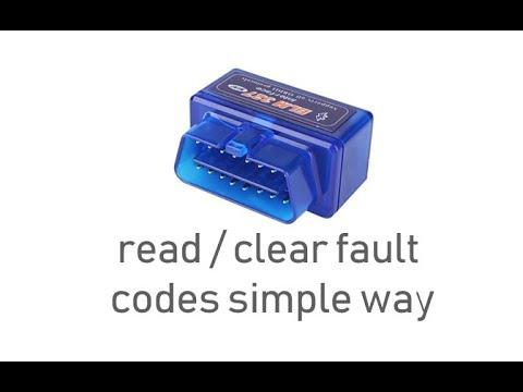 HOW TO RESET CHECK ENGINE LIGHT Using Elm327 Bluetooth Obd2 Scan Tool