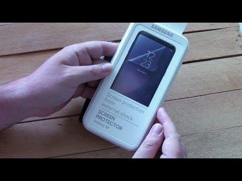 Galaxy S8 - стоит ли покупать фирменную пленку на экран?