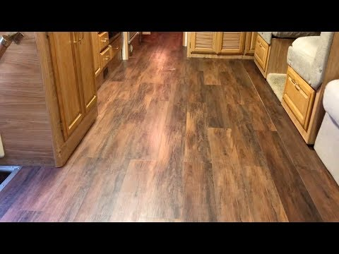 DIY Wood Floor RV Part 1 of 2
