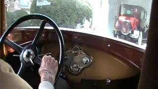 My Dad Driving his 1932 Ford Traveler Van continued!