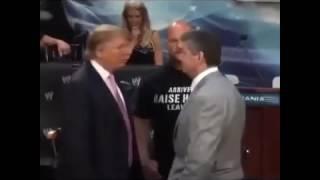 Дональд Трамп ударил провокатора в прямом эфире