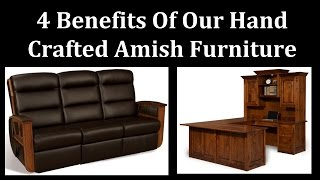 Need To Know Info On Amish Made Furniture