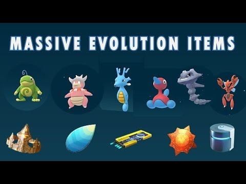 pokemon go how to get evolution items