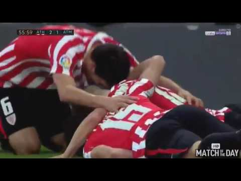 Athletic Bilbao vs Atletico Madrid 2 2   All Goals & Extended Highlights   La Liga 22 01 2017 HD