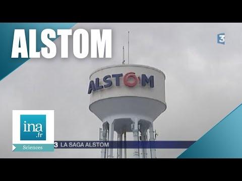 La saga Alstom   Archive INA