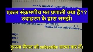 भारत मे राष्ट्रपति का चुनाव।election process of indian president |
