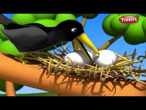 The Crow and Snake  मराठी कथा  3D Moral Stories For Kids in Marathi  Moral Values Stories Marathi